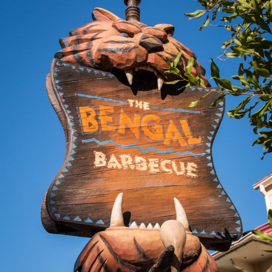New Bengal Barbecue Dining Area in Disneyland
