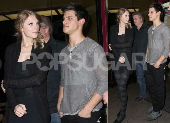 Photos of Taylor Lautner and Taylor Swift Date Night