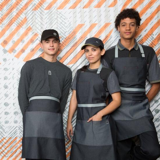 McDonald's New Gray Uniforms
