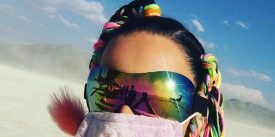 Celebrities Wore The Weirdest Things To Blend In With The Eccentric Burning Man Crowd