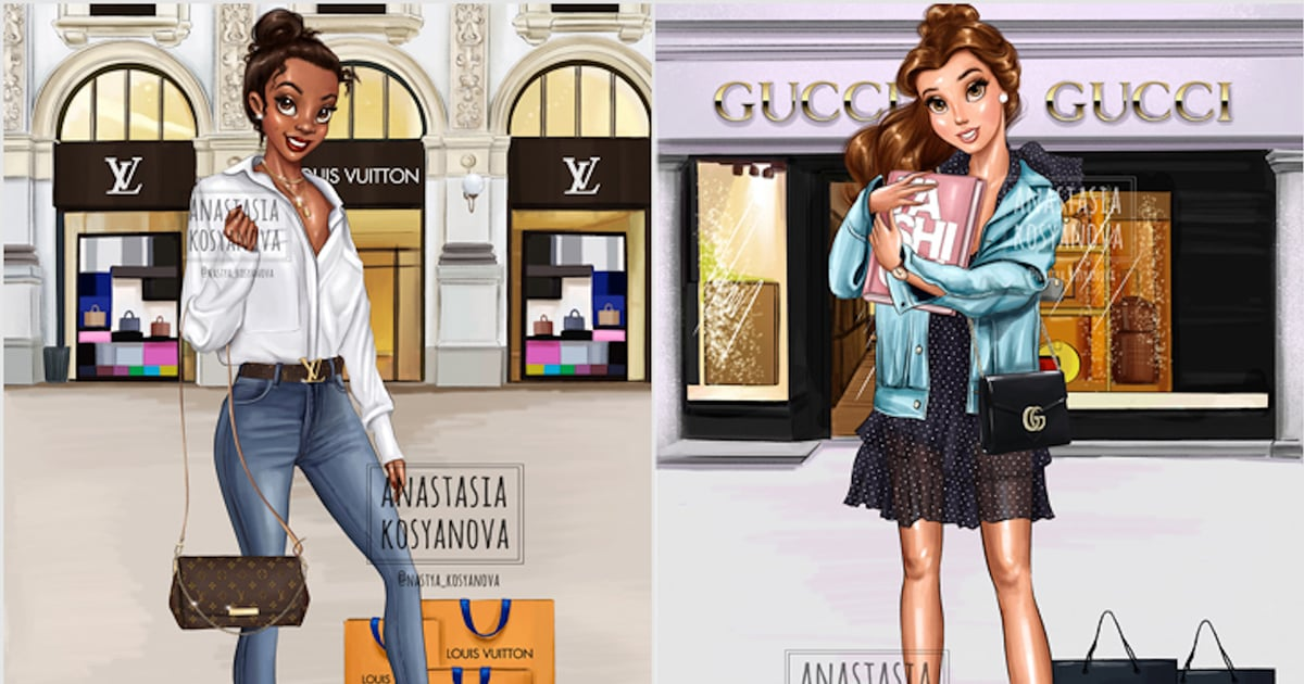 Fashionable Disney Princess Artwork Popsugar Smart Living