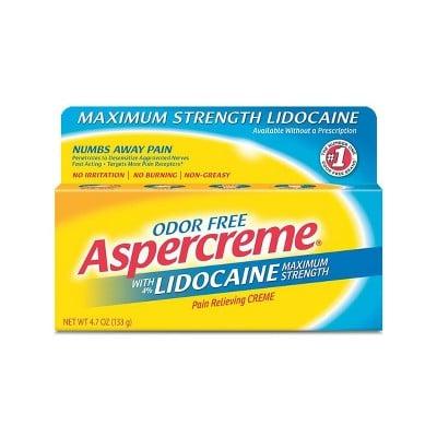 Aspercreme Lidocaine Pain Relieving Crème