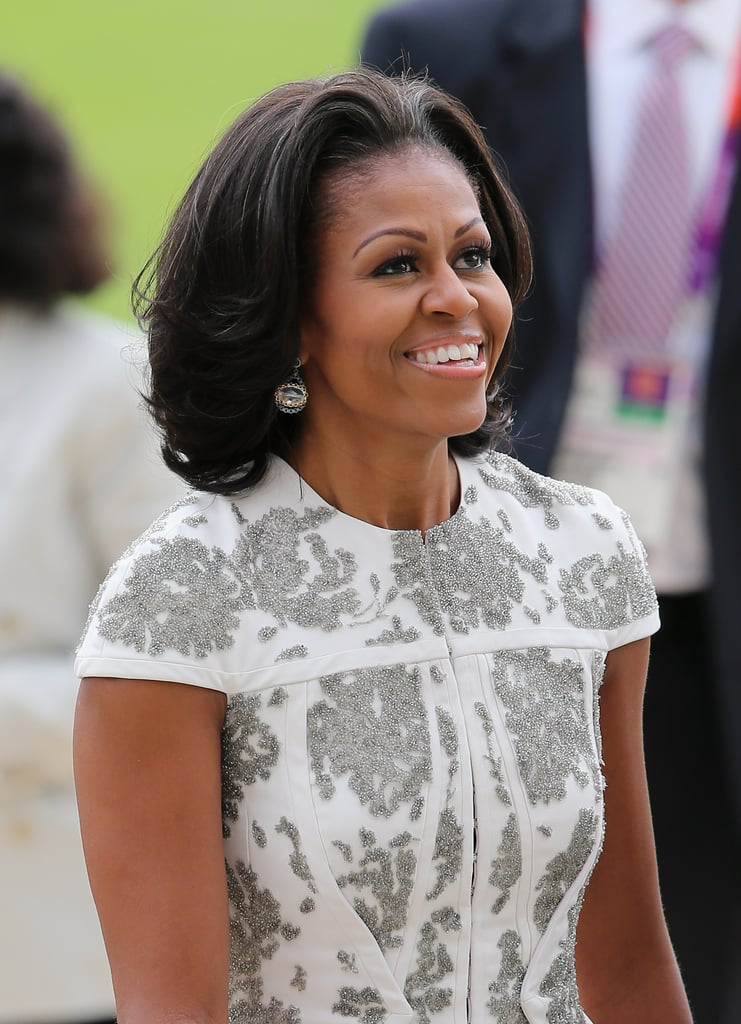july 2012 michelle obamas hair pictures popsugar