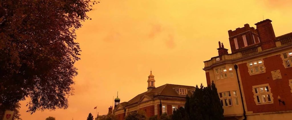 21 Surreal Images of the Yellow Sky and Red Sun Caused by Storm Ophelia