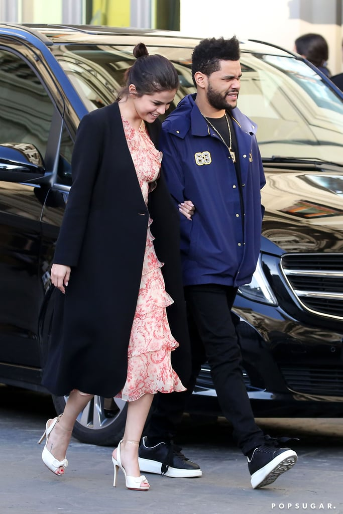 Selena Gomez And The Weeknd Vacation In Italy Pictures