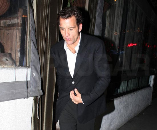 Photo of Clive Owen Heading Home After Dinner in LA