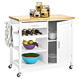 Best Choice Products Portable Kitchen Island Cocktail Cart