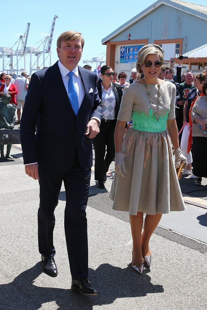 Queen Maxima's Mattijs Van Bergen Dress October 2016