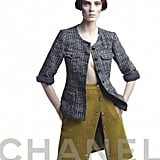 Chanel takes a stark stance on its tweedy wares for Fall.