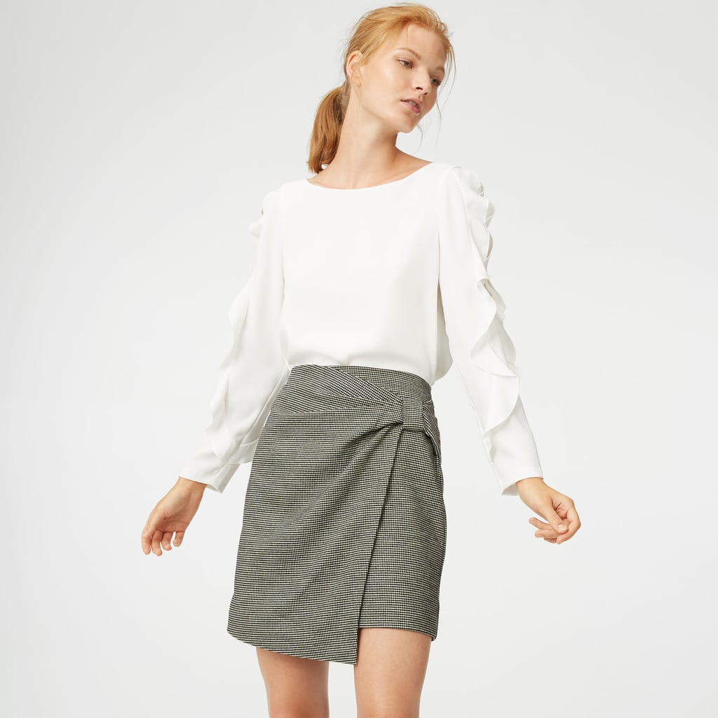 4a95e4c89c Club Monaco Chavelle Flannel Skirt | How to Wear Flannel | POPSUGAR ...