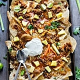 Hawaiian Buffalo Chicken Nachos