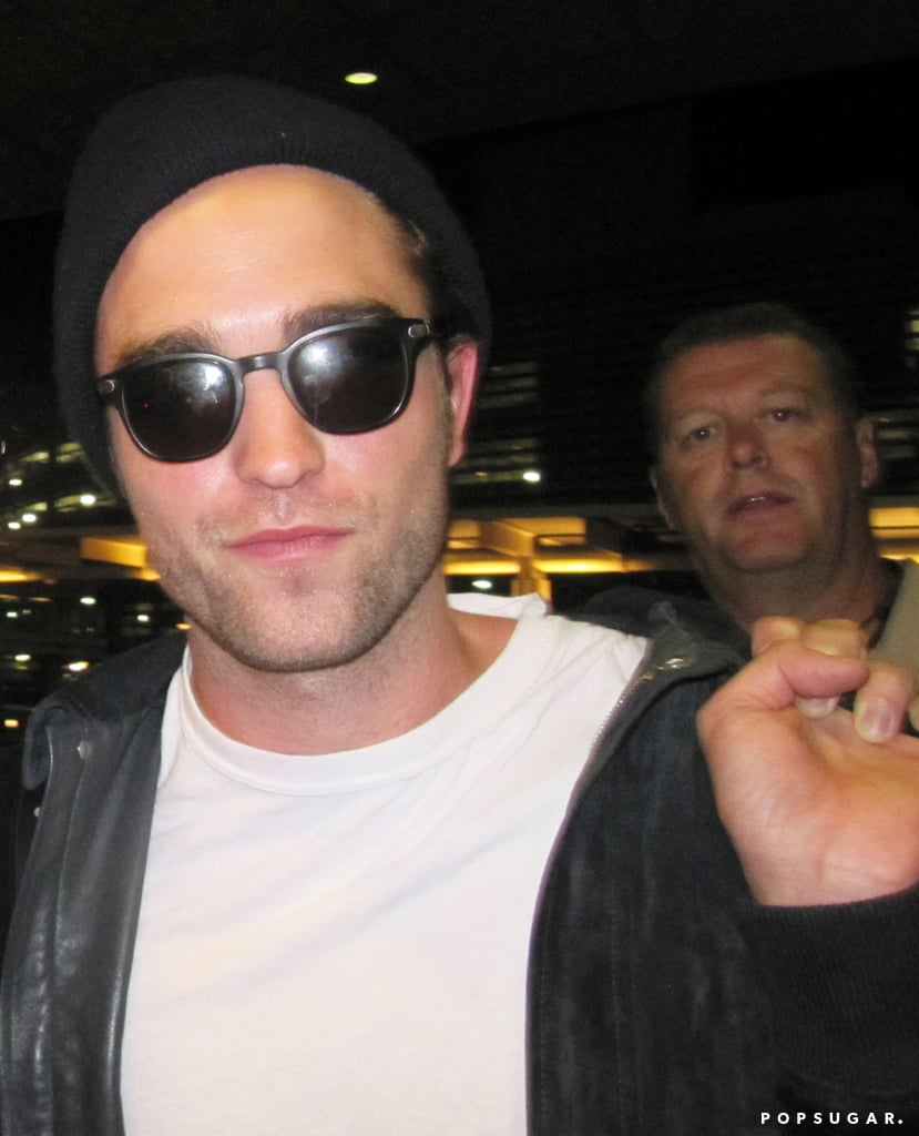 Robert Pattinson arrived in Toronto.
