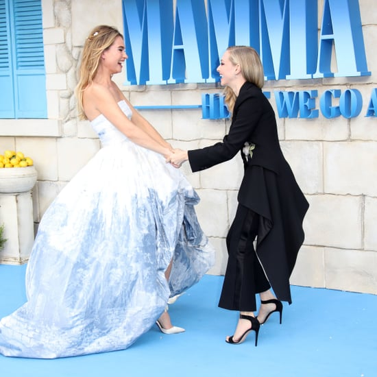 Celebrities at Mamma Mia! Here We Go Again Premiere