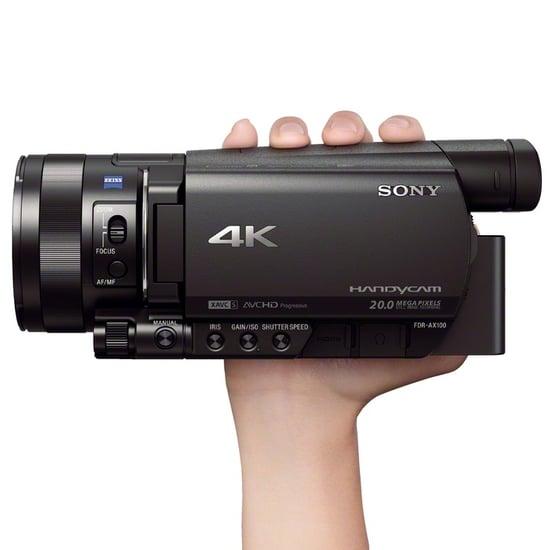 Sony 4K Handycam FDR-AX100