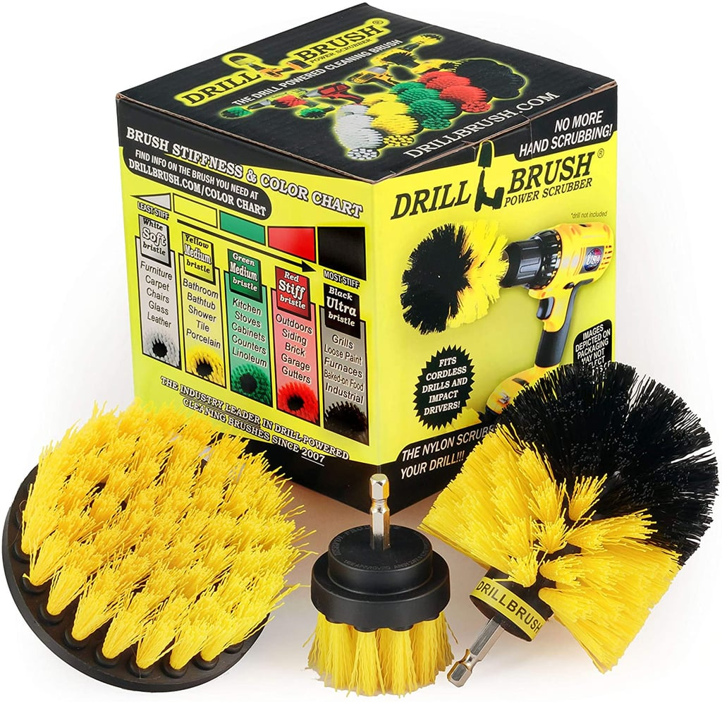 Drill Brush Power Scrubber by Useful Products Drill Brush Attachment