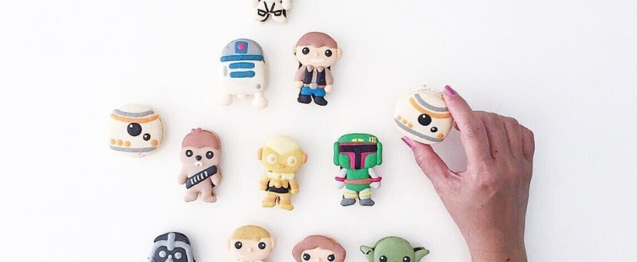 We'd Travel to Jakku and Back For These Star Wars Macarons
