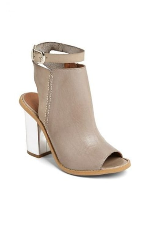 While you still can, show off your pedicure in these Sixty Seven Layla booties ($179).