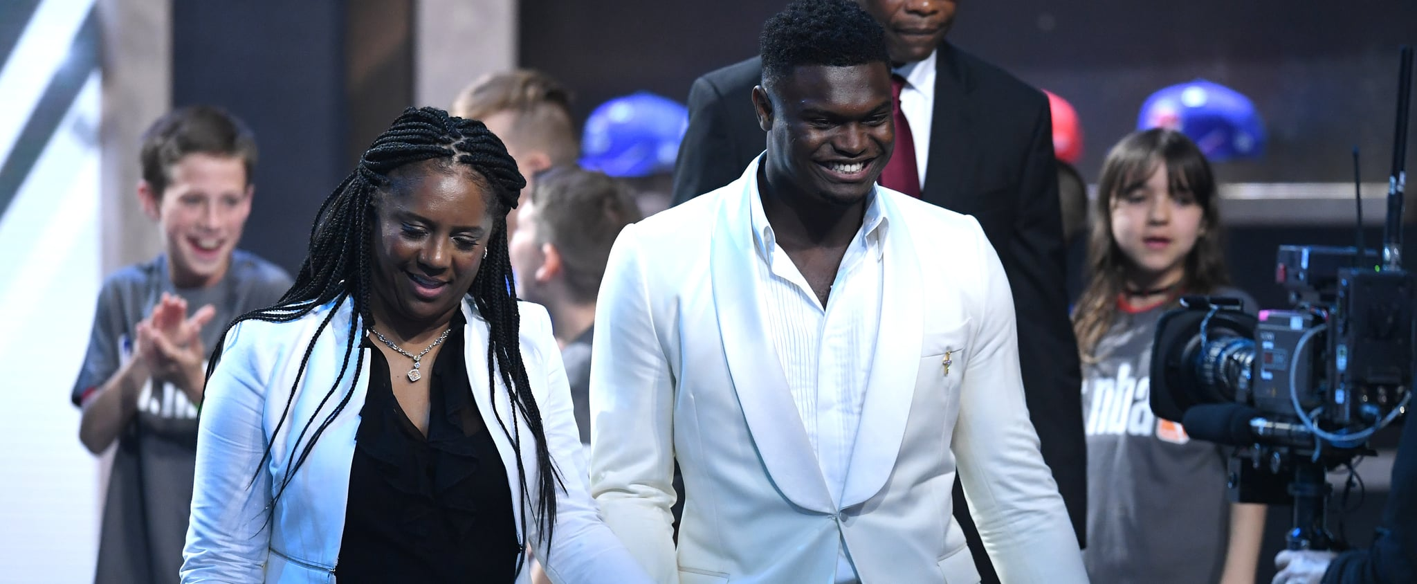 Zion Williamson Talks About His Mom June 2019