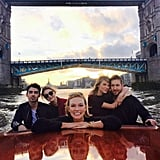 "In June, the couple had a double date with Gigi Hadid and Joe Jonas (aka ""GI Joe"") — plus fifth wheel Karlie Kloss."