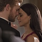 Murray Fraser and Parisa Fitz-Henley as Prince Harry and Meghan Markle