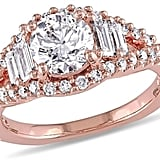 Julie Leah 1 2/3 CT TDW Diamond 14K Rose Gold Engagement Ring, IGL Certified ($11,963)