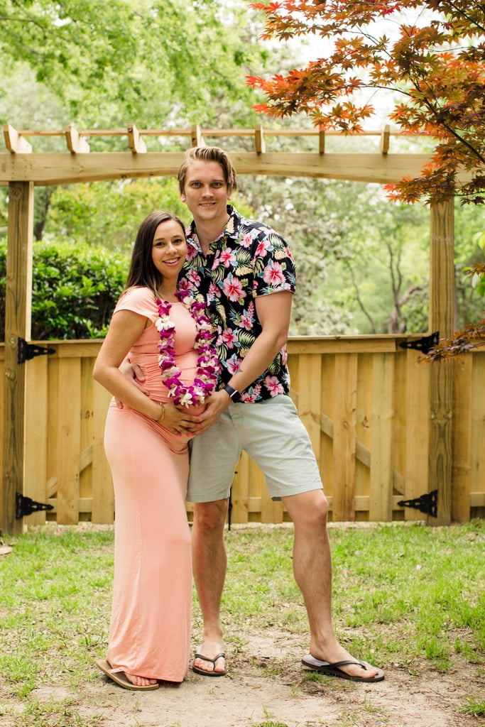 Flamingos, Pineapples, and Leis — This Backyard Baby Shower Will Transport You to a Tropical Paradise