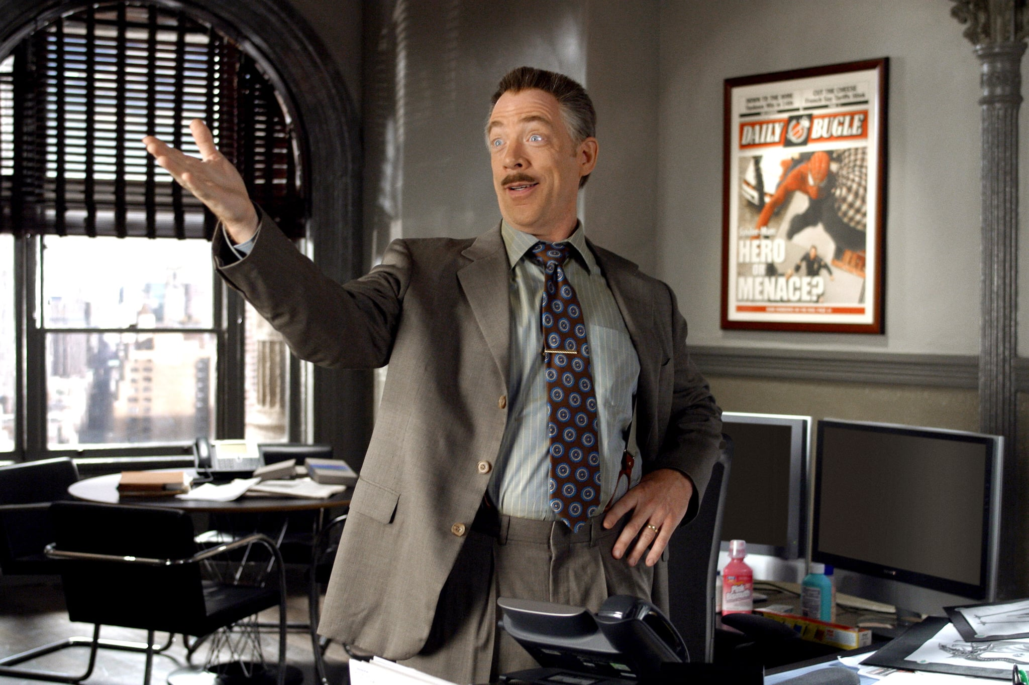 SPIDER-MAN 2, J.K. Simmons, 2004, (c) Columbia/courtesy Everett Collection