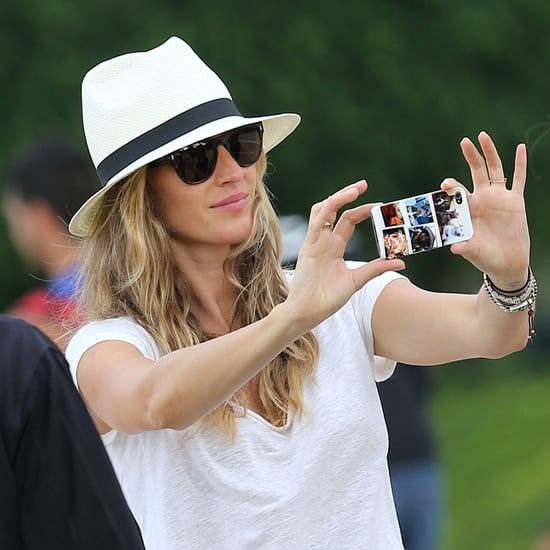 Gisele in Paris With Daughter Vivian Brady