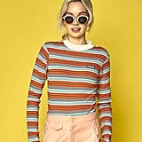 W Concept Polly Stripe T-Shirt