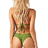 Montce Swim Olive Euro Bikini Top ($64) and Bottom ($64)