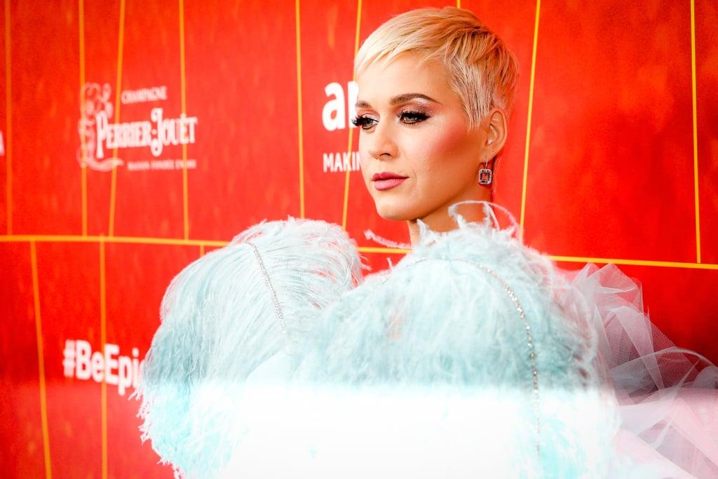 Katy Perry and Orlando Bloom at the 2018 amfAR Gala