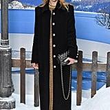 Clémence Poésy at Chanel Fall 2019