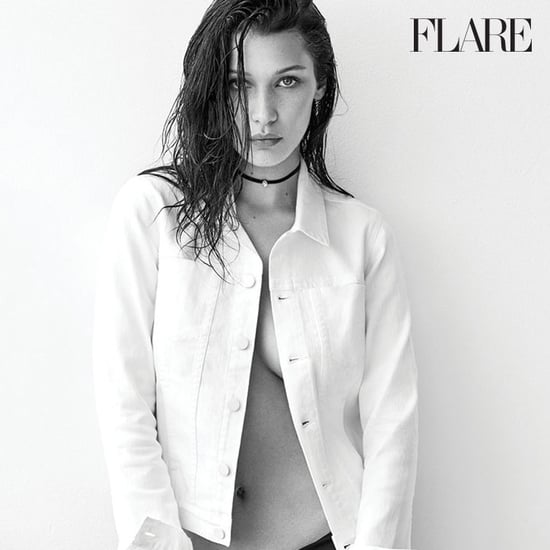 Bella Hadid Covers Flare Magazine October 2016
