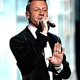 "Macklemore performed ""Same Love"" with Ryan Lewis."