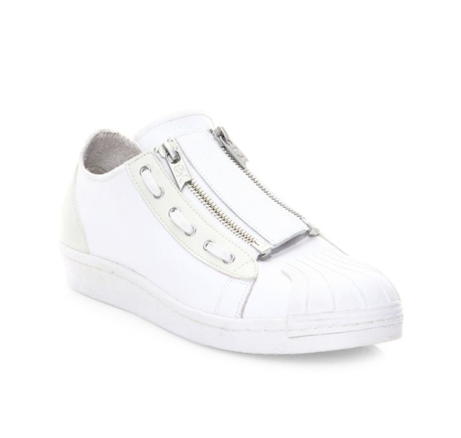 49f6c3efc7d0 These Y-3 Super Zip Leather Sneakers ( 290) are a modern