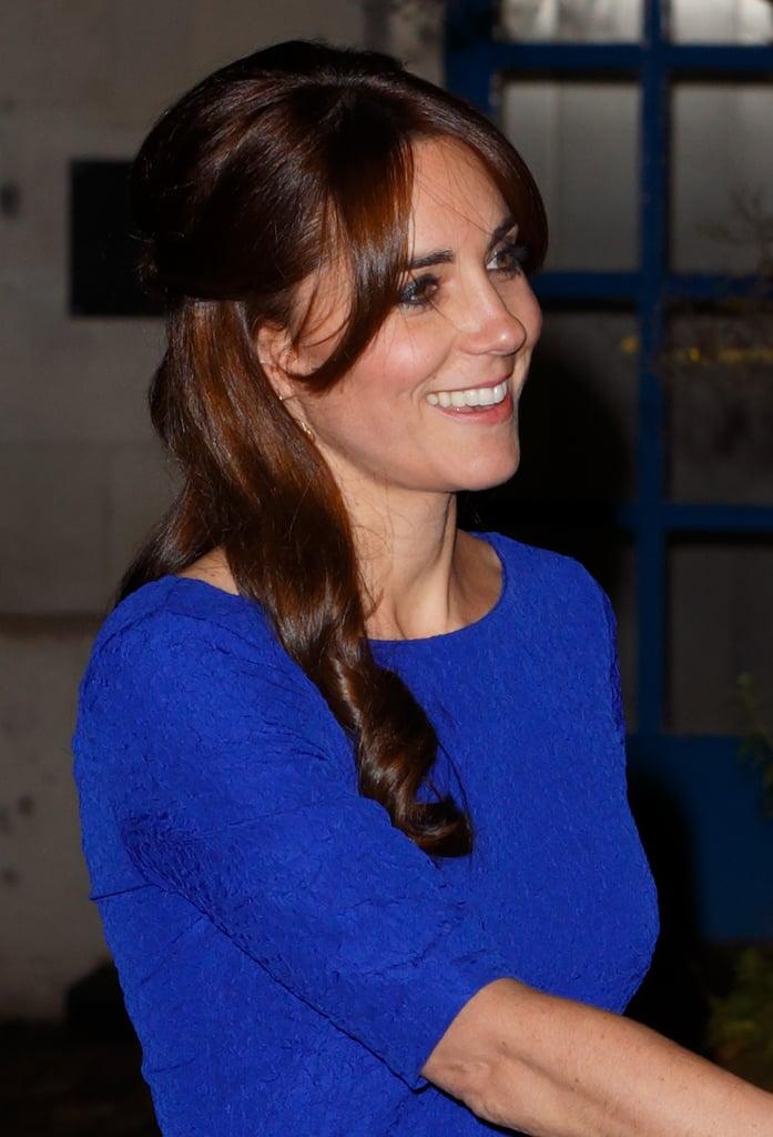 Kate Middleton Half-Up Hair Idea   POPSUGAR Beauty