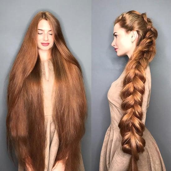Anastasia Sidorova Long Rapunzel Hair