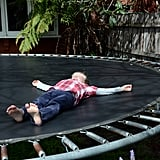 Prevent injuries with this DIY trampoline-spring wrap.