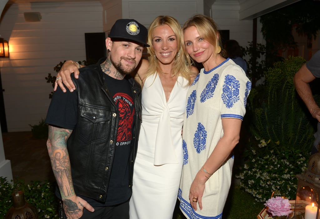 Benji Madden joined Vicky and Cameron for a snap.