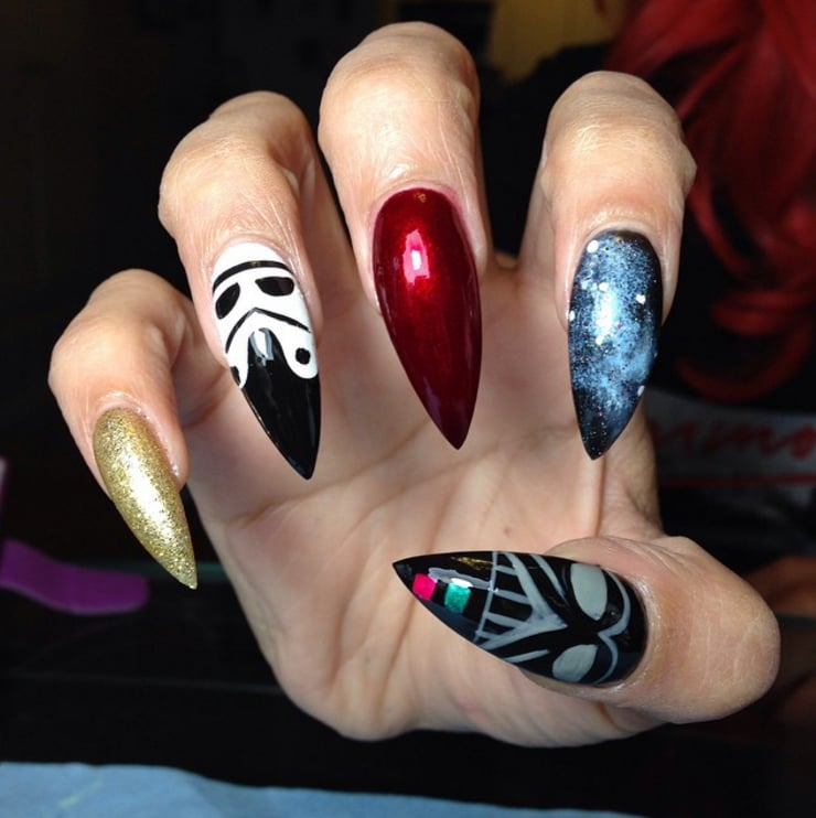 Star Wars Nail Art Ideas - Star Wars Nail Art Ideas POPSUGAR Beauty Photo 16
