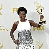 Viola Davis at the 2015 Emmy Awards