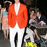 Garrett Neff at Ferragamo's launch of L'Icona in New York. Source: David X Prutting/BFAnyc.com