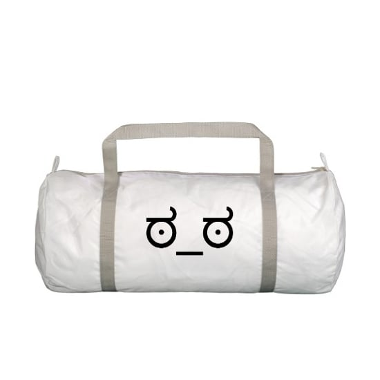 Disapproving Gym Bag