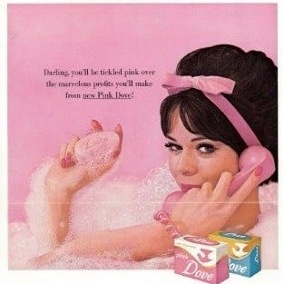 Vintage Dove Ads