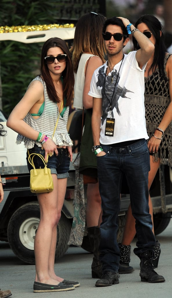 Ashley Greene and Jared Followill (of Kings of Leon) hung out in 2011.