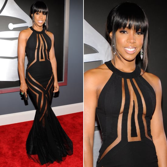 Kelly Rowland | Grammys 2013 Red Carpet Dress | POPSUGAR Fashion