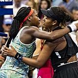 Naomi Osaka and Coco Gauff at 2019 US Open