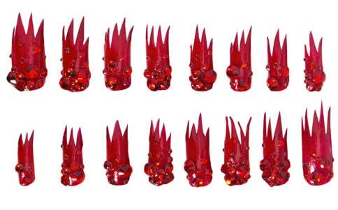 Lady Gaga and Barneys Launch Press-On Christmas Nails