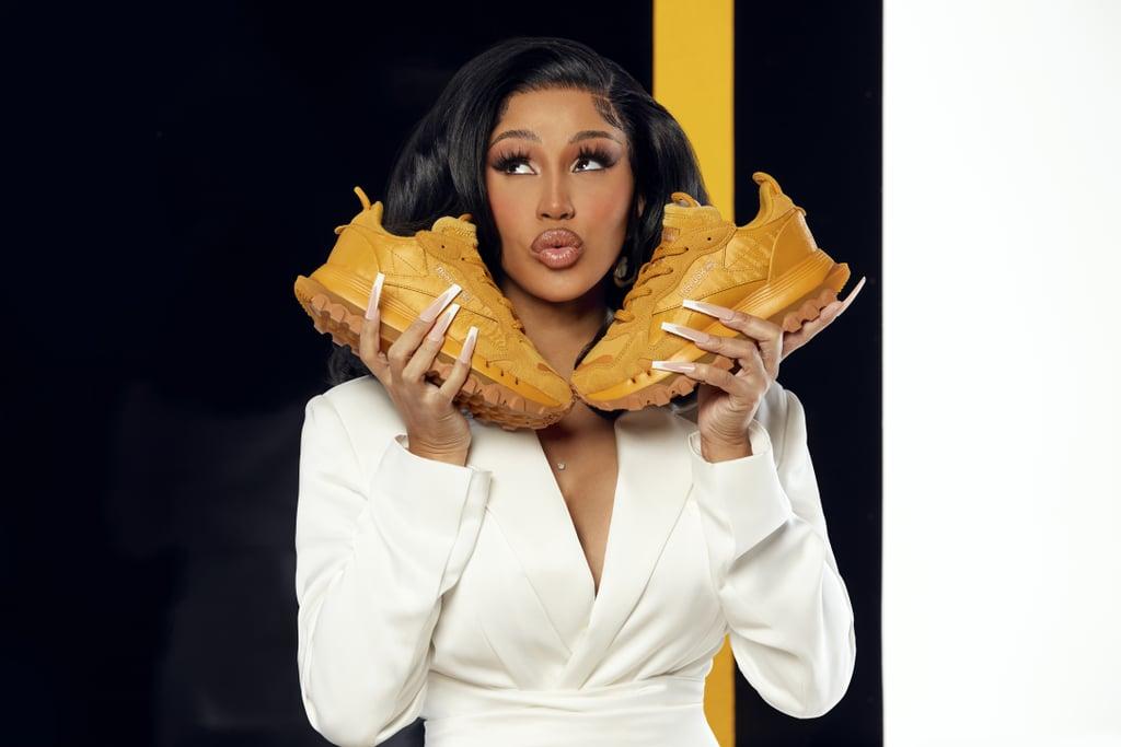 Cardi B and Reebok Drop New Leather Sneakers