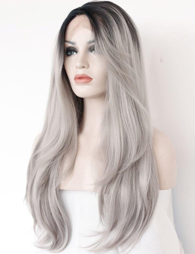 K'ryssma Ombre Gray Wig